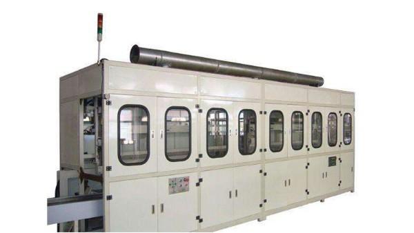 半自动玻璃清洗机的清洗结构及各组成部分功能