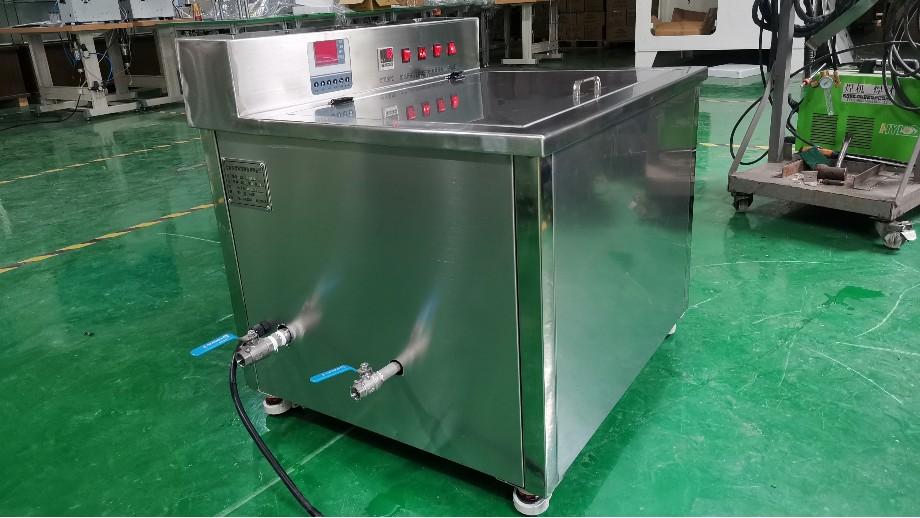 中山市德润丰定制 电子元器件单槽超声清洗机案例