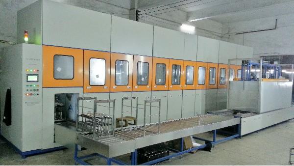江苏新泰源定制 餐具厨具全自动超声波清洗机设备案例