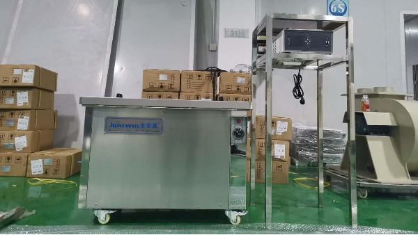 客户案例-熔喷布模具单槽清洗机JTA-1048T设备介绍说明书
